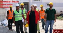 Diyarbakır'da inşaat sektöründe ''HANIMAĞA''